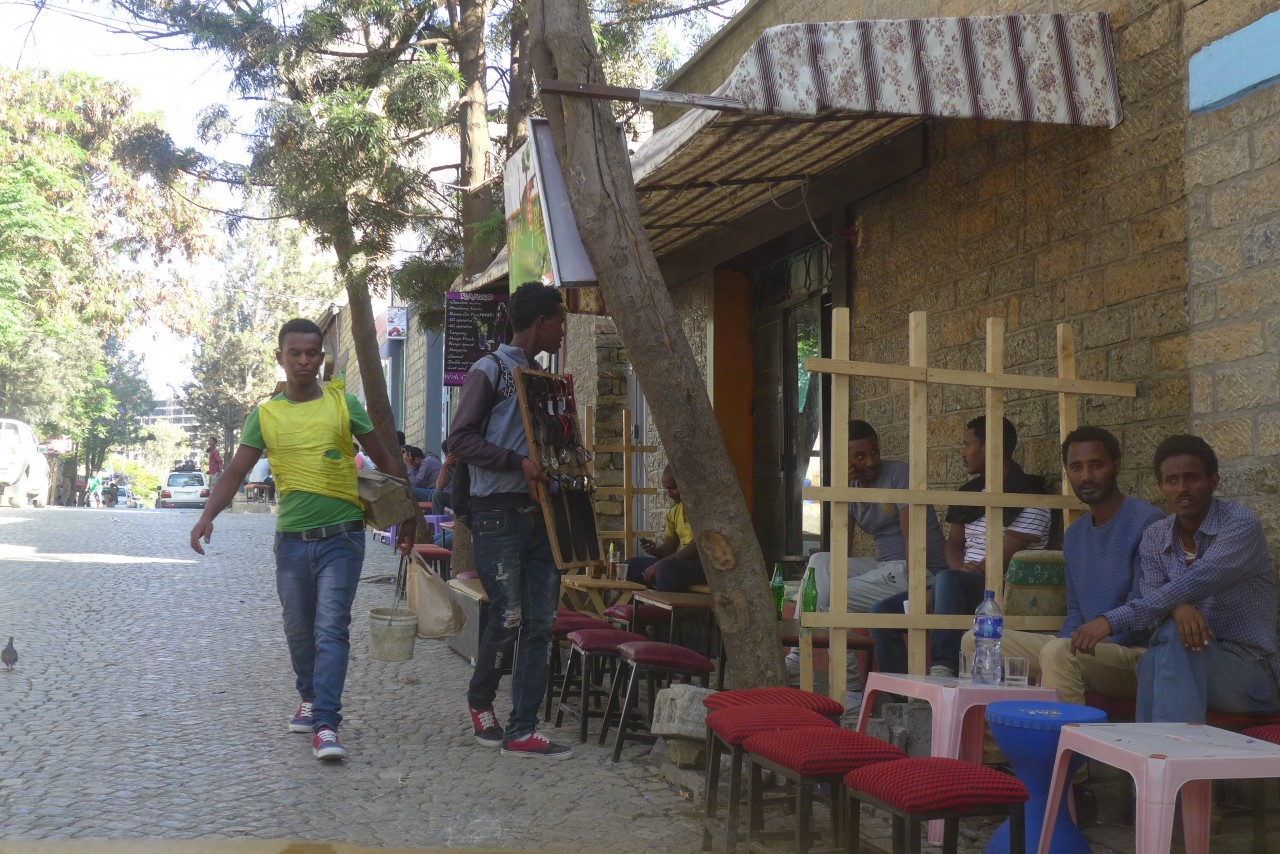 Street scene in Mekelle